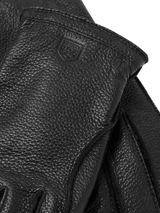 Hestra Frode Wool-Lined Full-Grain Leather Gloves