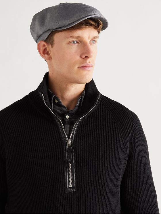 LOCK & CO HATTERS Nylon Flat Cap