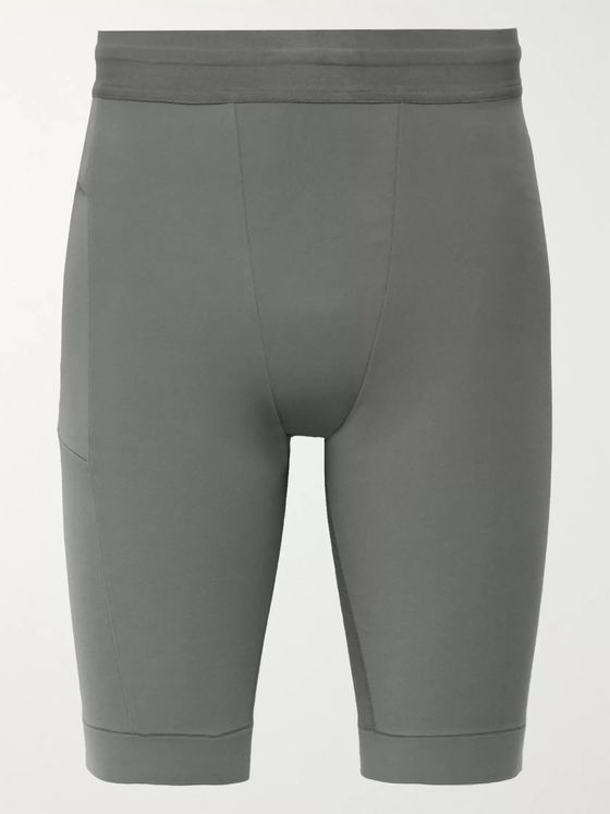 Nike Training Yoga Infinalon Dri-Fit Shorts