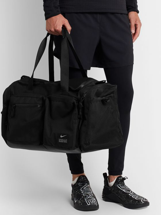 Nike Training Utility Nylon-Canvas Holdall
