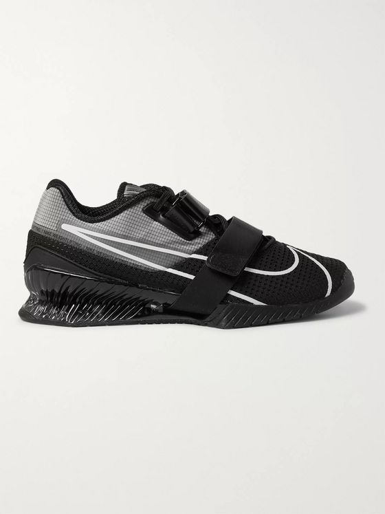 Nike Training Romaleos 4 Ripstop and Mesh Sneakers