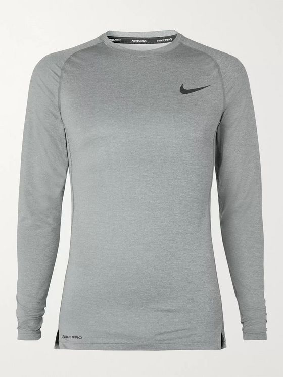 Nike Training Logo-Print Dri-FIT Pro Top