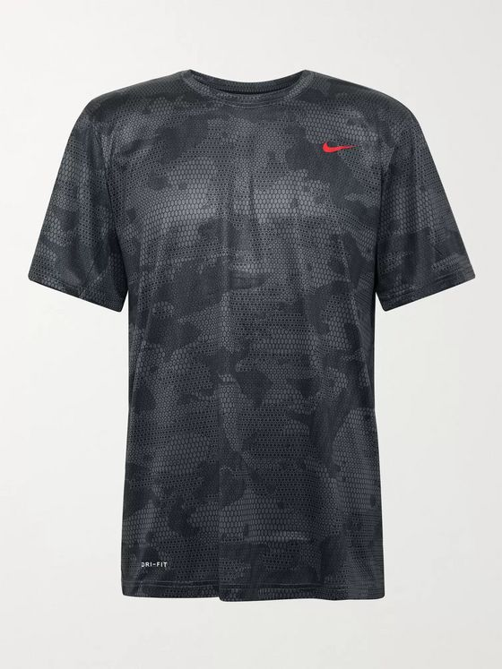 Nike Training Legend Camouflage-Print Dri-FIT T-Shirt