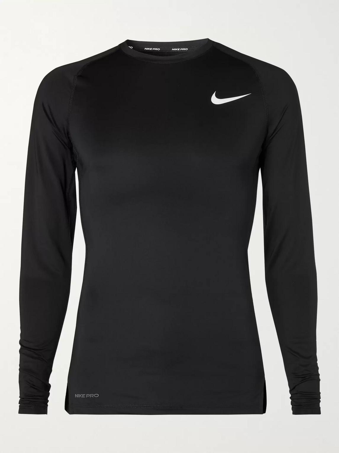 Nike Men's Pro Dri-fit Training Top In Black
