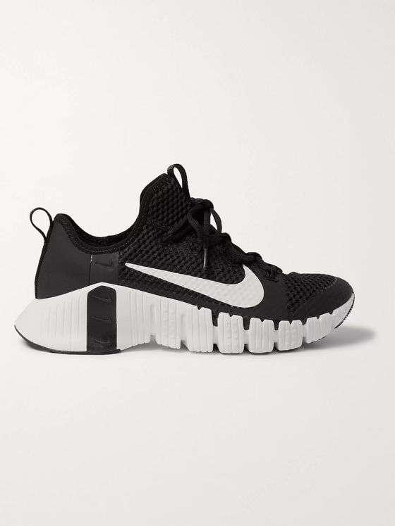 Nike Training Free Metcon 3 Coated-Mesh Sneakers