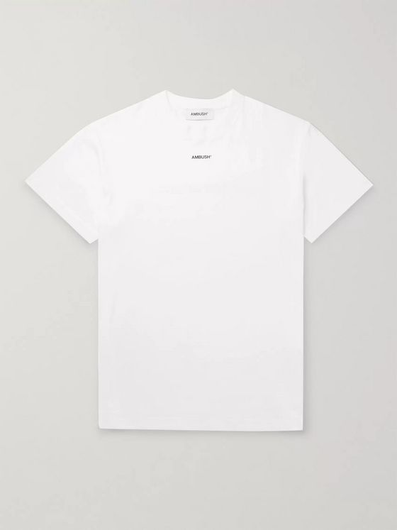 AMBUSH® Logo-Print Cotton-Jersey T-Shirt