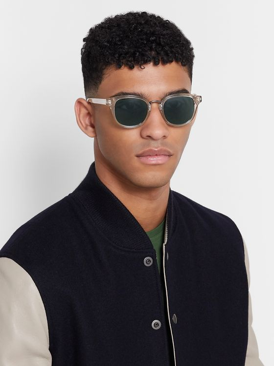 Oliver Spencer Conrad Acetate D-Frame Sunglasses