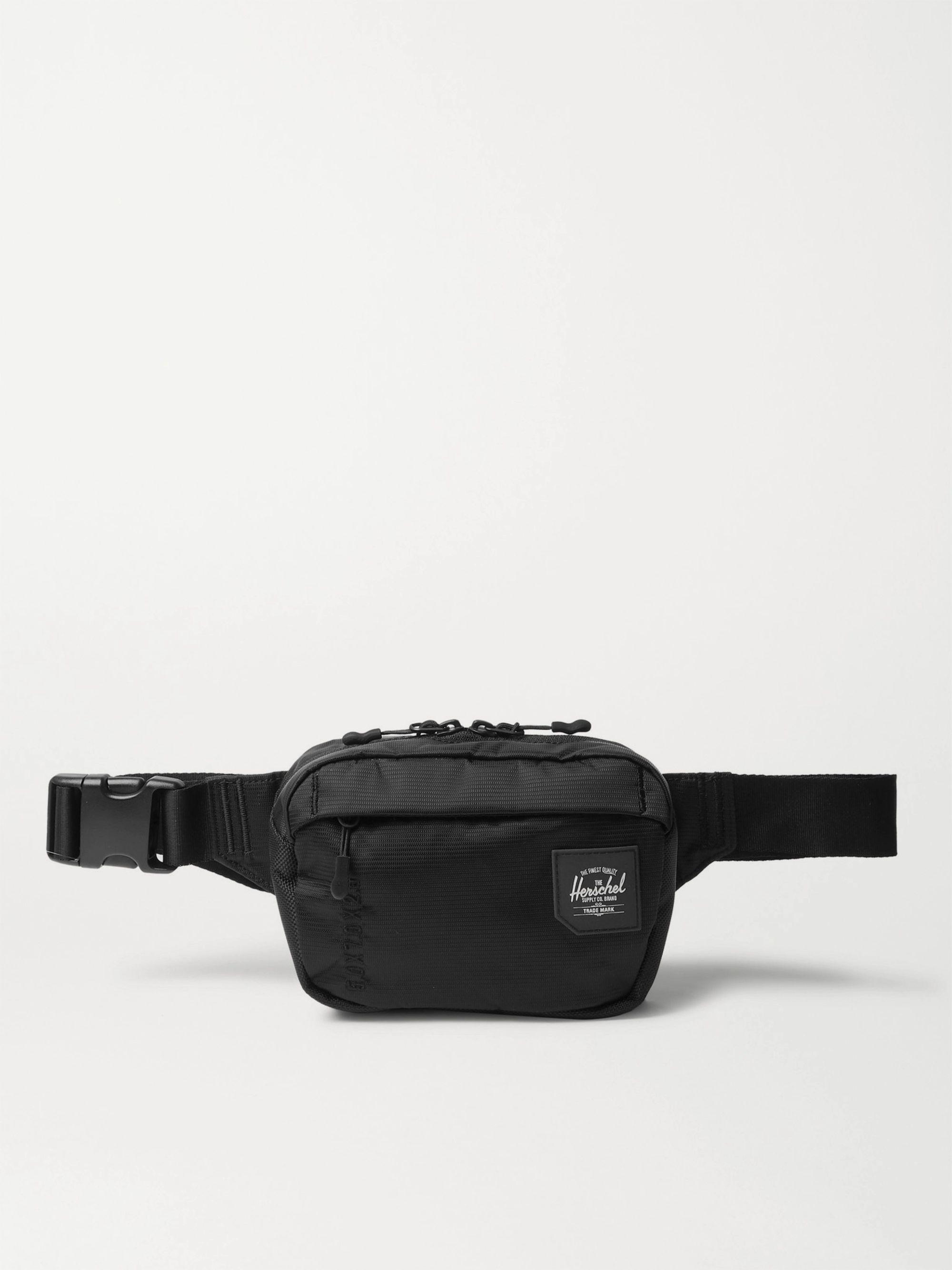 HERSCHEL SUPPLY CO Tour Small Nylon Belt Bag,Black