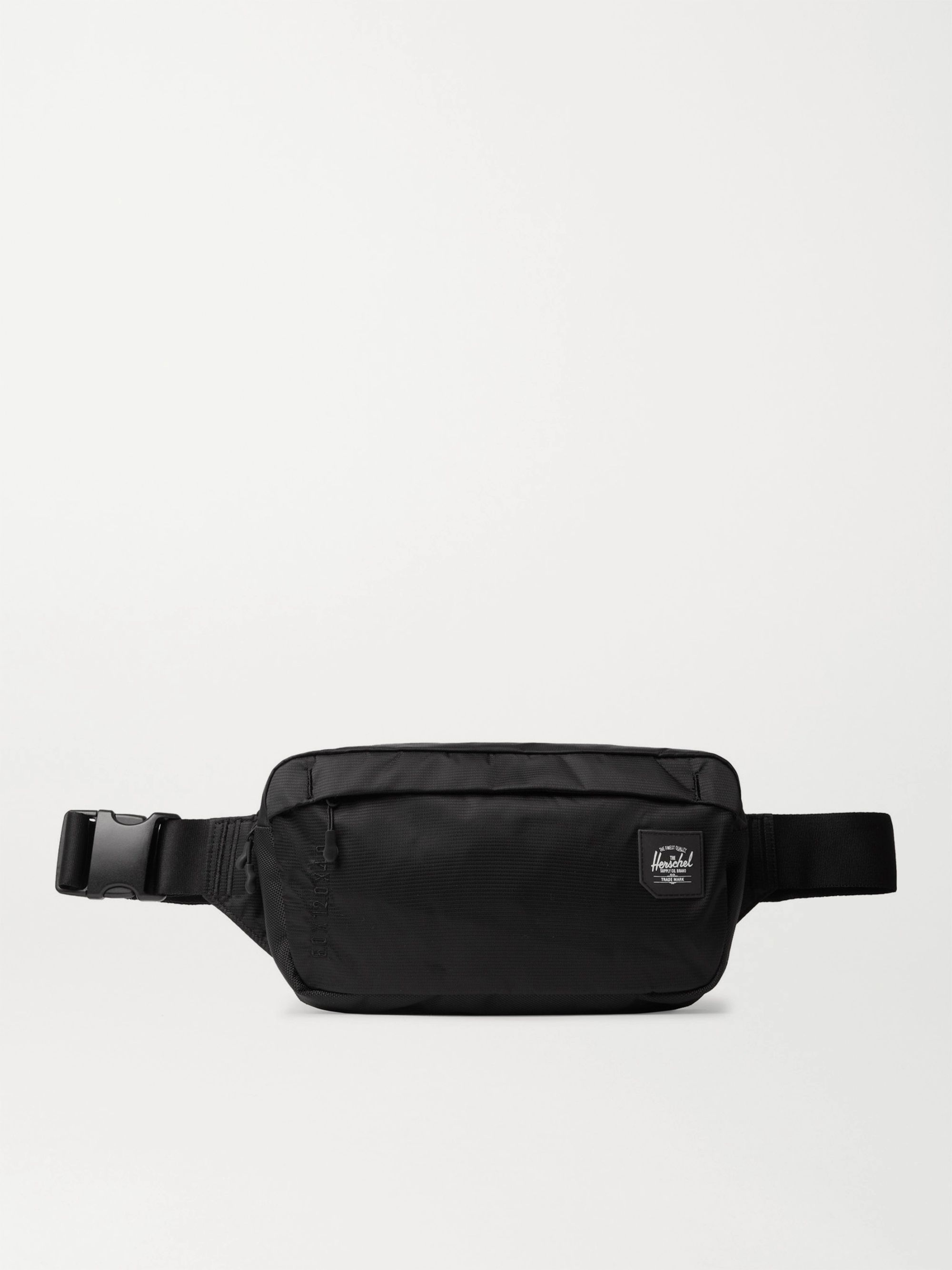 HERSCHEL SUPPLY CO Tour Medium Nylon Belt Bag,Black