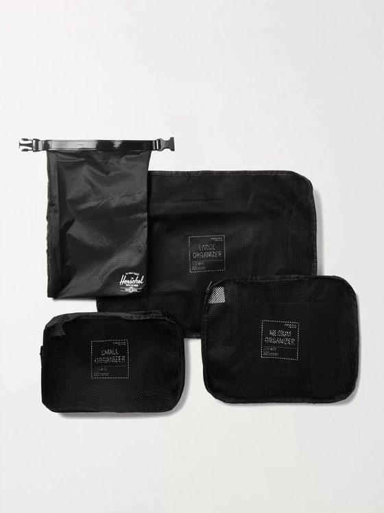 HERSCHEL SUPPLY CO Ripstop and Mesh Packing Cubes