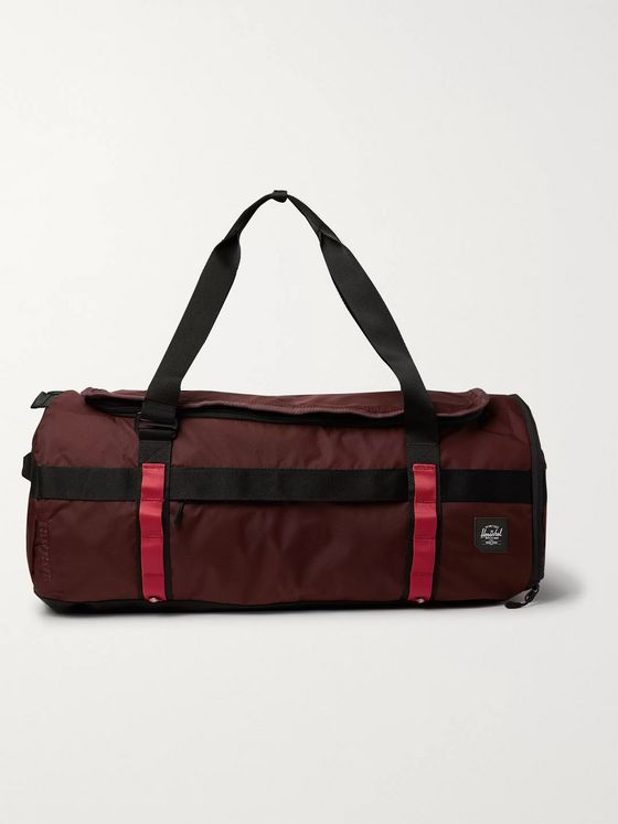 Herschel Supply Co Sutton Nailhead Dobby-Nylon Duffle Bag