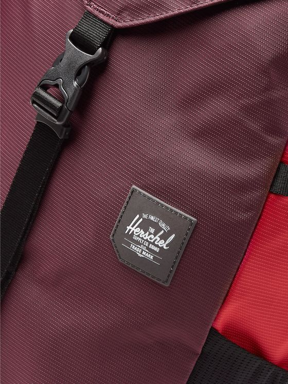 Herschel Supply Co Barlow Large Nailhead Dobby-Nylon Backpack