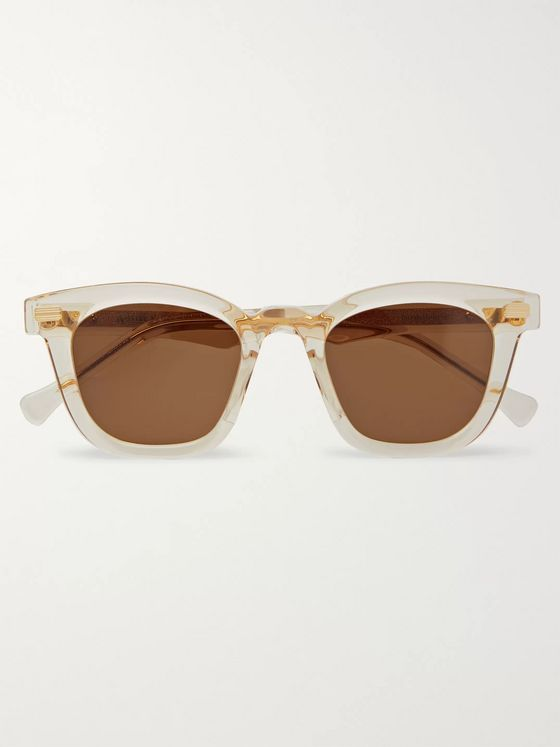 Native Sons Kowalski Square-Frame Acetate Sunglasses