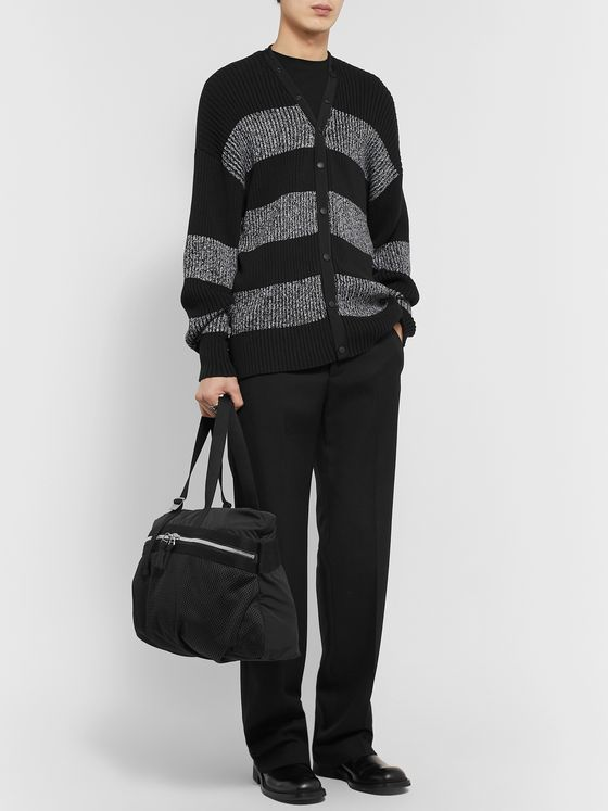 Bottega Veneta Webbing-Trimmed Nylon and Mesh Tote Bag