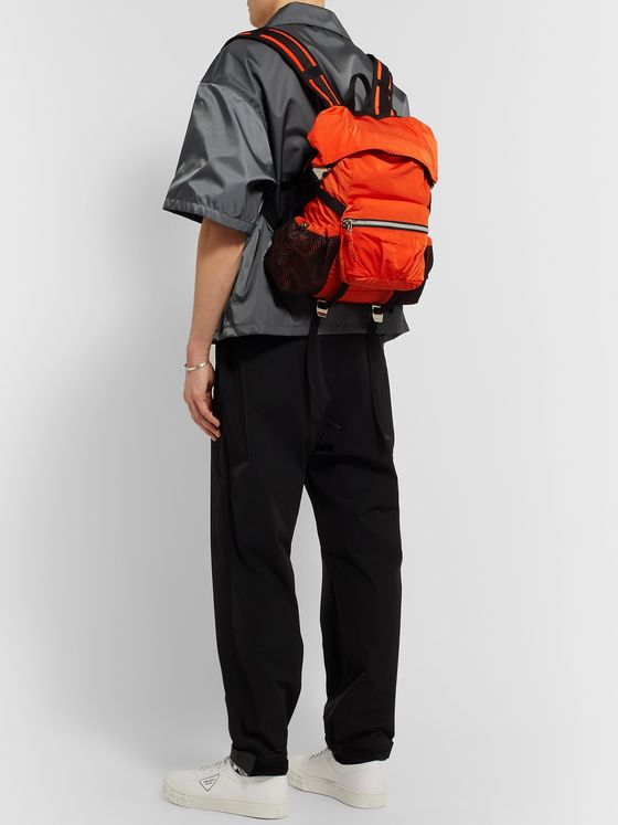 BOTTEGA VENETA Webbing-Trimmed Shell Backpack