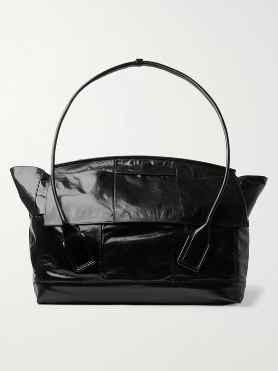 Bottega Veneta Intrecciato Textured-Leather Holdall
