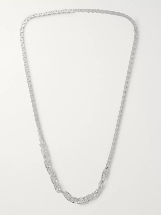 Martine Ali Sterling Silver Chain Necklace