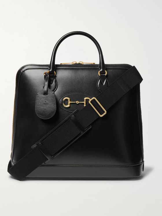 Gucci Horsebit Leather Briefcase