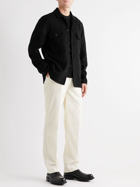 MR P. Cashmere Overshirt