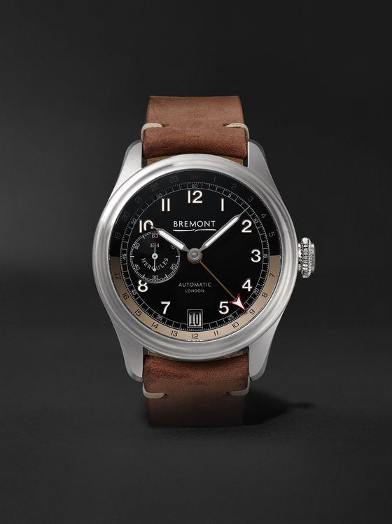 Bremont H-4 Hercules Limited Edition Automatic GMT 43mm Stainless Steel Watch, Ref. No. H-4 LE, Ref. No. H-4-HERCULES-SS-R-S