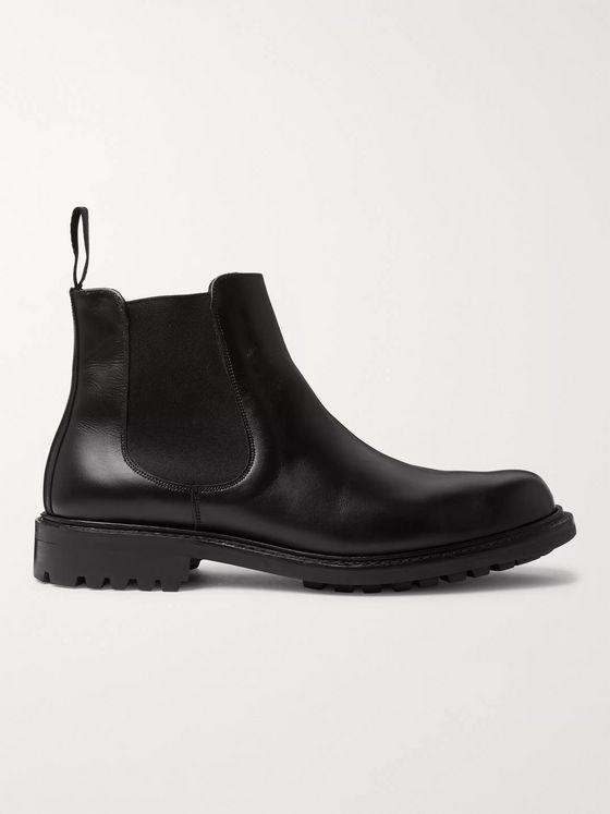 Mr P. Peter Leather Chelsea Boots