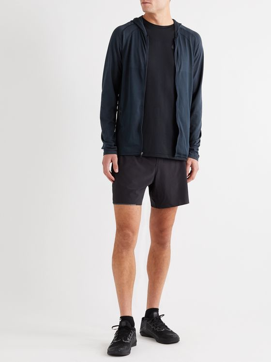Lululemon Metal Vent Tech 2.0 Stretch-Jersey Zip-Up Hoodie