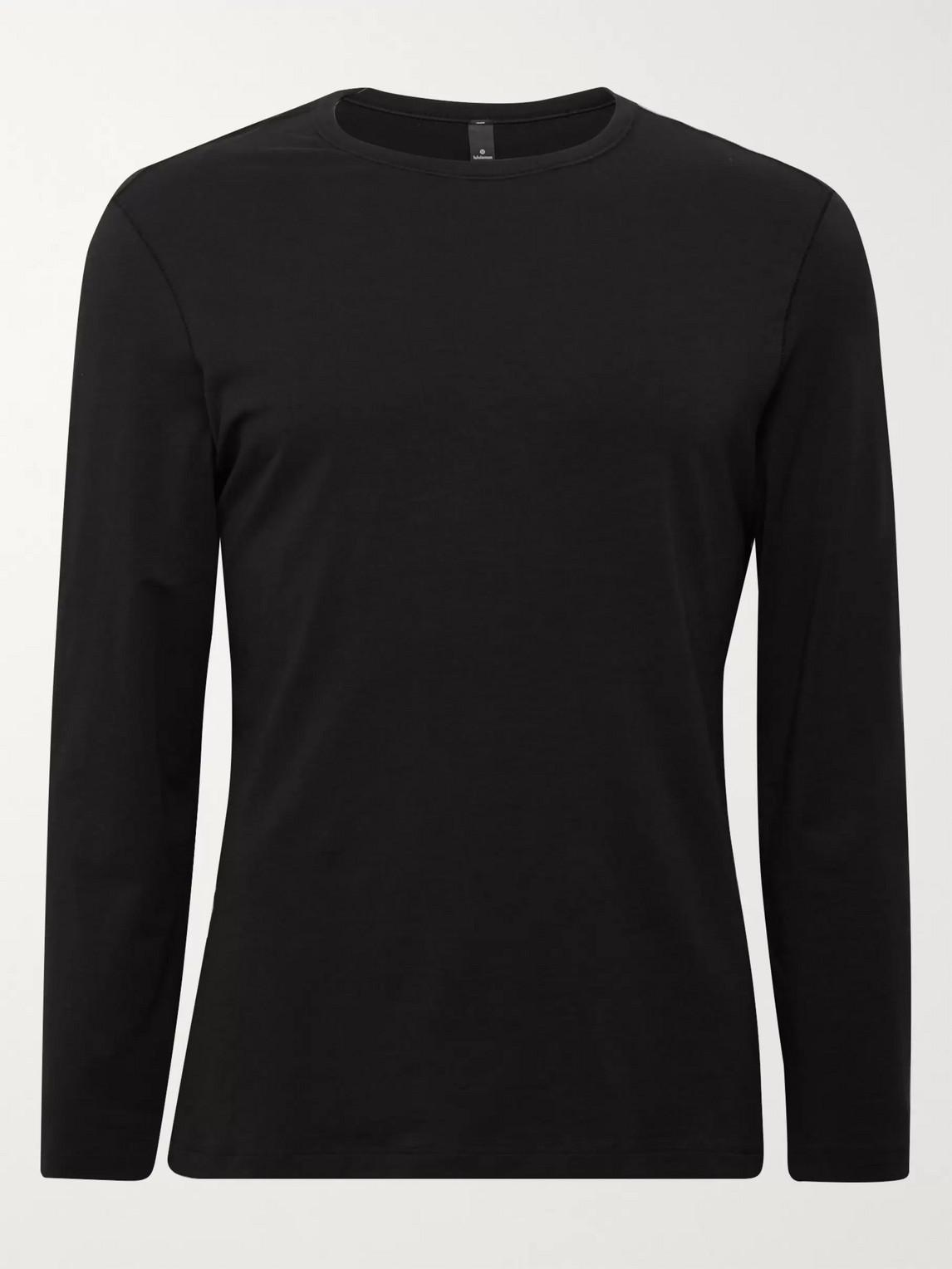 lululemon - 5 year basic vitasea t-shirt - men - black