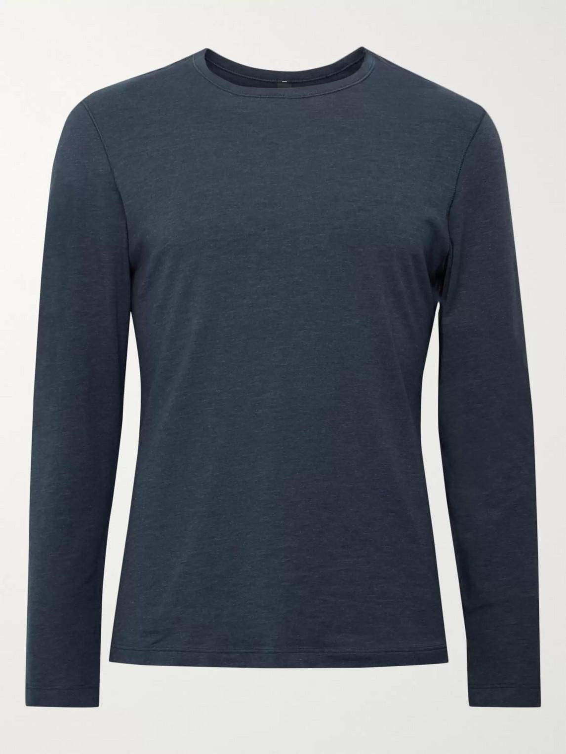 lululemon - 5 year basic mã©lange vitasea t-shirt - men - blue