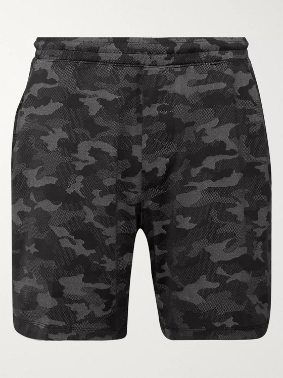 Lululemon Pace Breaker Printed Swift Shorts