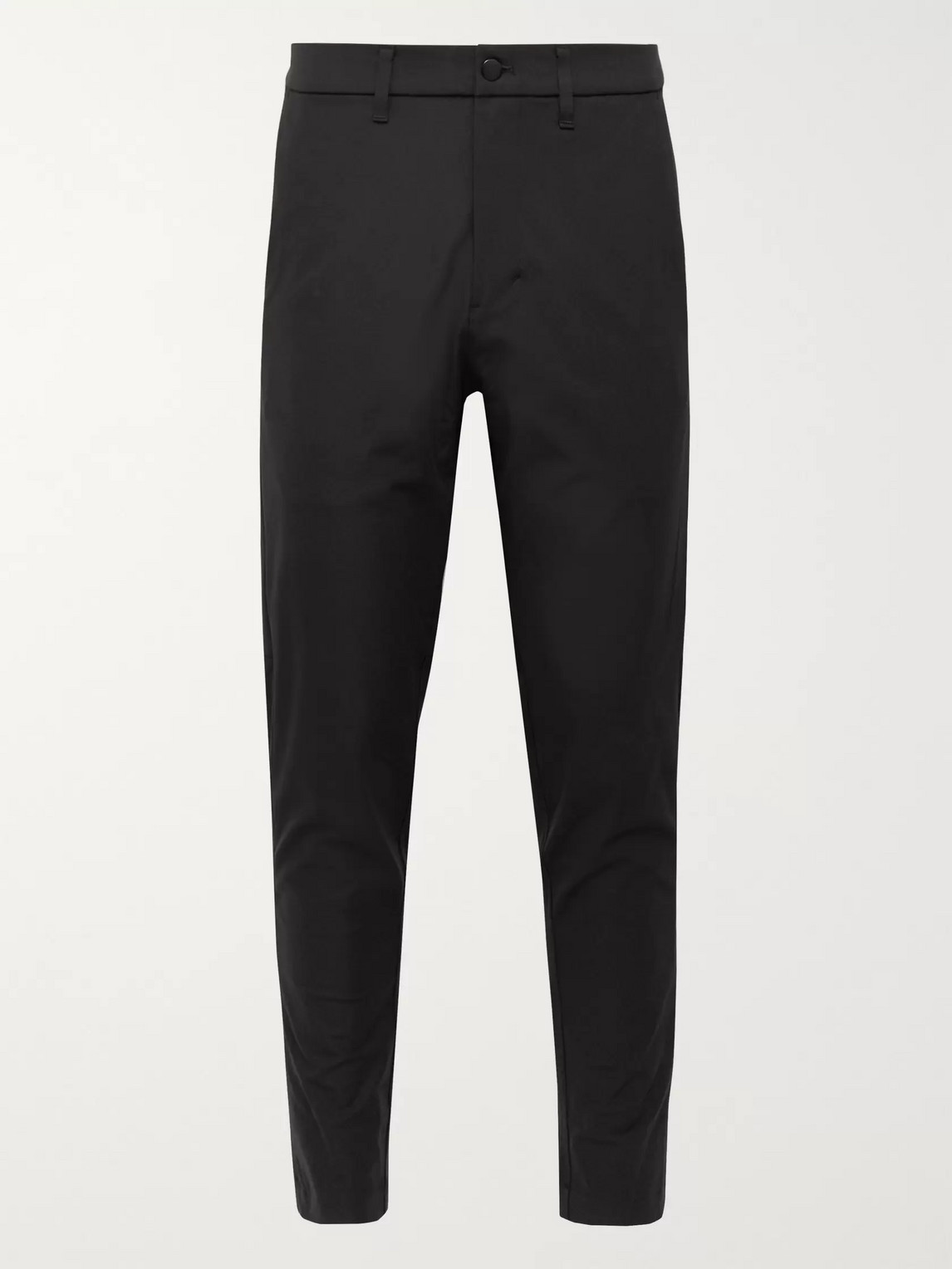 lululemon - commission slim-fit shell golf trousers - men - black