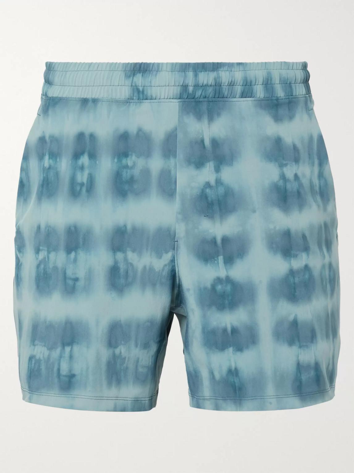 lululemon - pace breaker swift shorts - men - blue