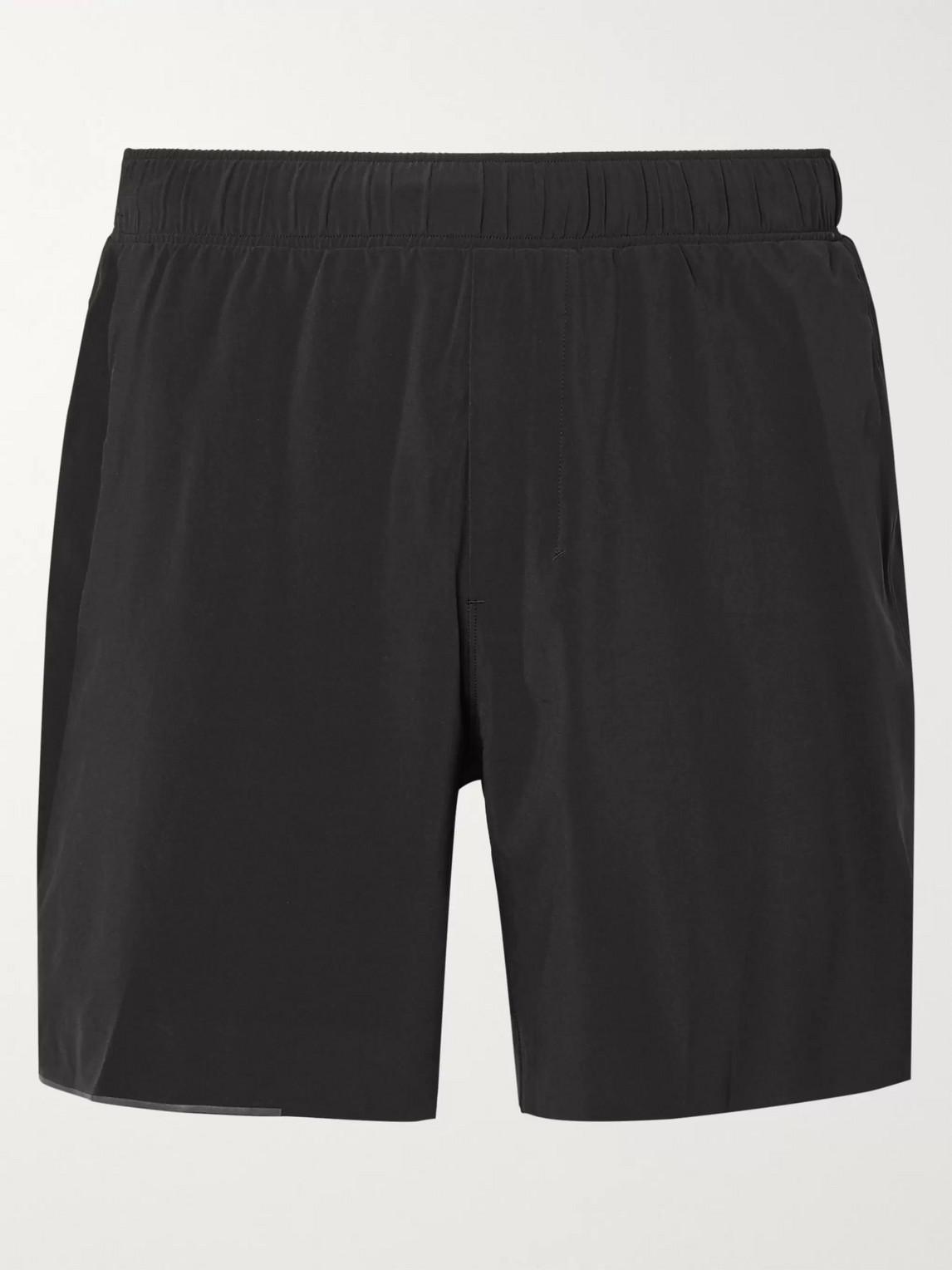 lululemon - surge swift shorts - men - black