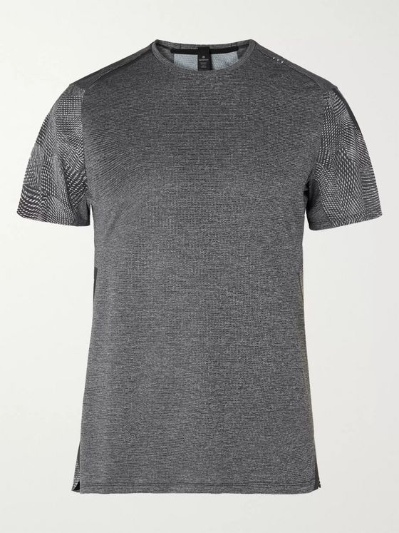 Lululemon Fast and Free Elite Mélange Mesh T-Shirt