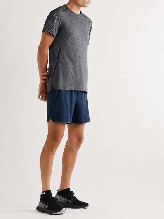 Lululemon Fast and Free Elite Mélange Mesh Running T-Shirt