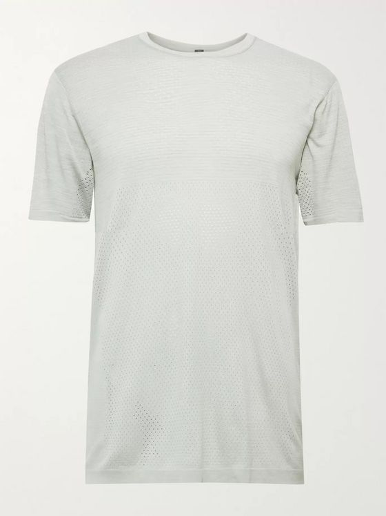 LULULEMON Metal Vent Breathe Mélange Mesh T-Shirt
