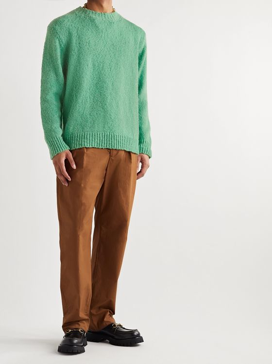 Dries Van Noten Merino Wool-Blend Sweater