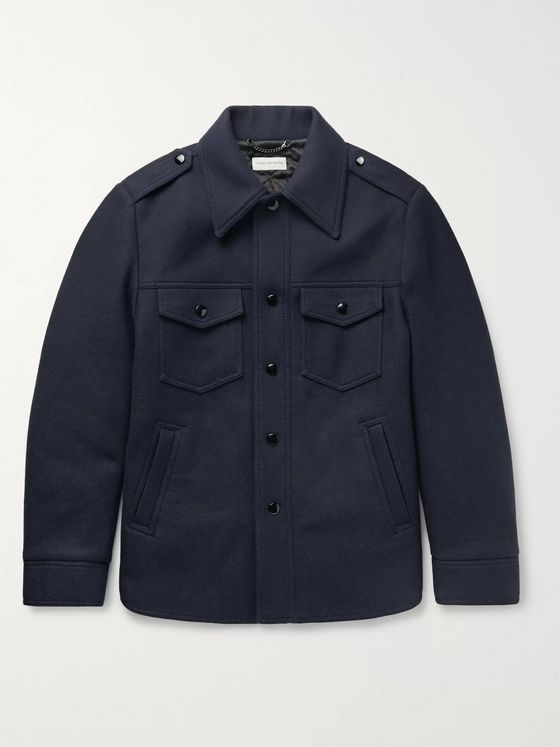 Dries Van Noten Wool-Blend Jacket