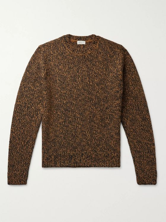 Dries Van Noten Mélange Wool Sweater