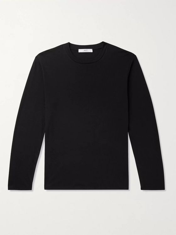 MR P. Cotton and Cashmere-Blend Jersey T-Shirt