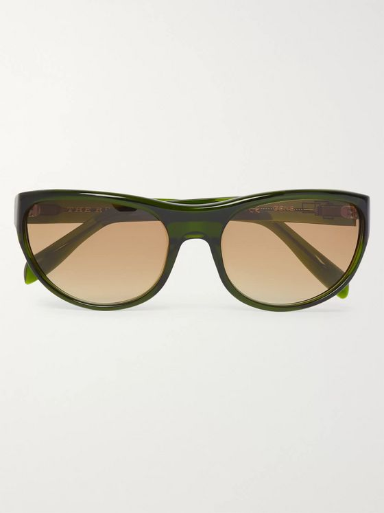 The Reference Library Gene Round-Frame Acetate Sunglasses