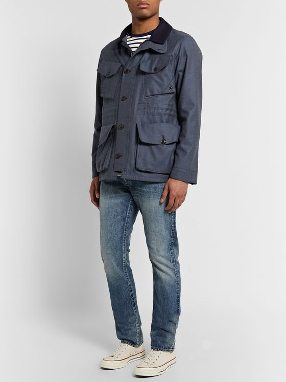 The Workers Club Slim-Fit Selvedge Denim Jeans