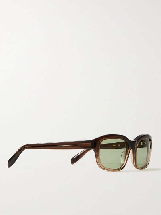 The Reference Library Serge Square-Frame Tortoiseshell Acetate Sunglasses