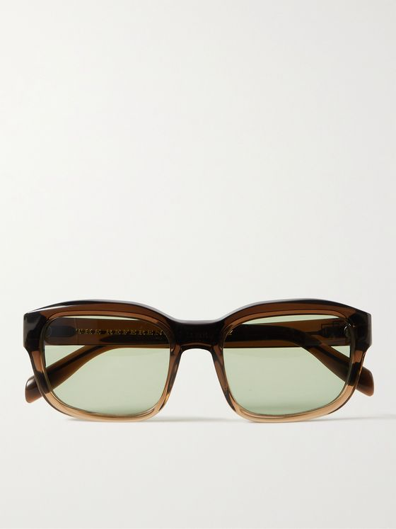 The Reference Library Serge Square-Frame Acetate Sunglasses