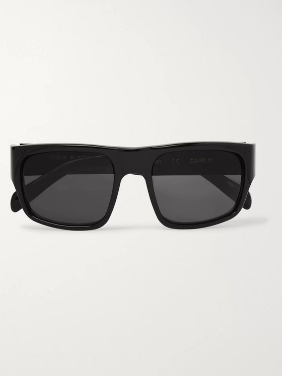 The Reference Library Carlo Square-Frame Acetate Sunglasses