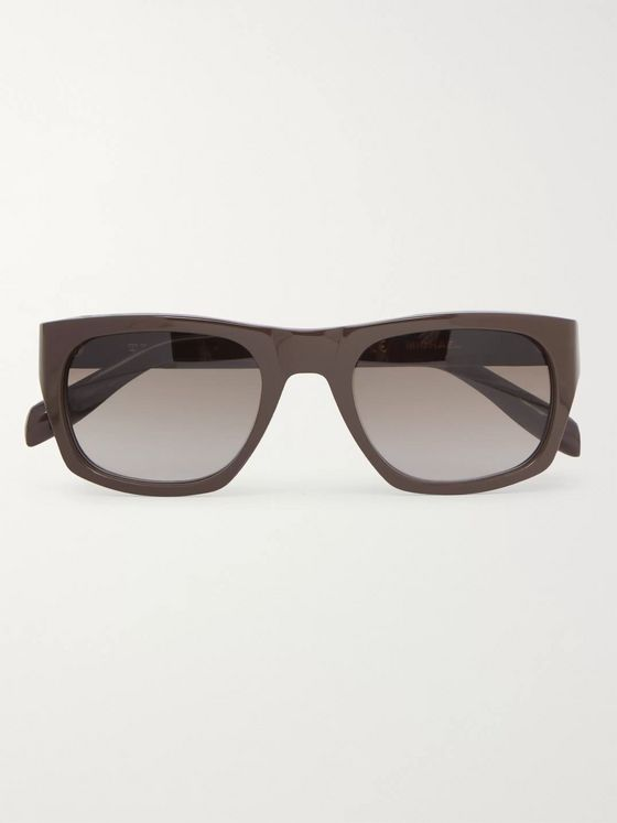 The Reference Library Michael Square-Frame Acetate Sunglasses