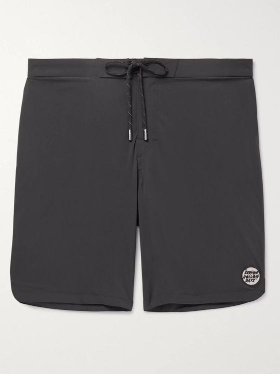 Outerknown Logo-Appliquéd Shell Swim Shorts