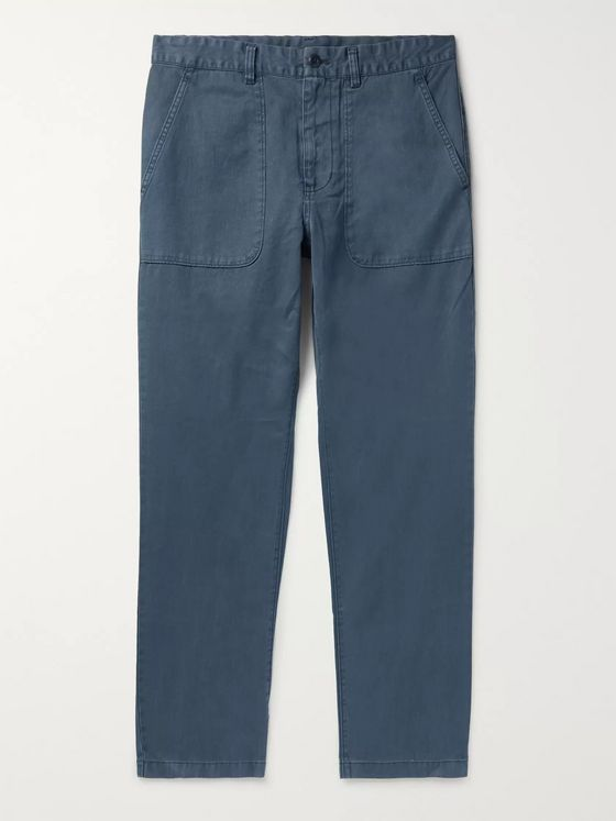 Outerknown Balsa Hemp and Organic Cotton-Blend Trousers