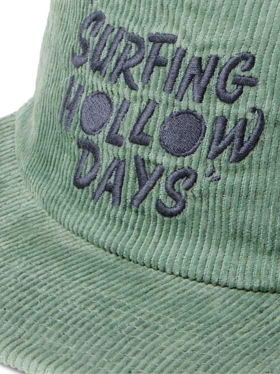 Outerknown Logo-Embroidered Hemp and Organic Cotton-Blend Corduroy Baseball Cap