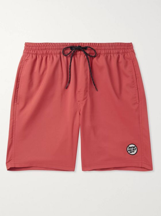 Outerknown Logo-Appliquéd Shell Drawstring Shorts