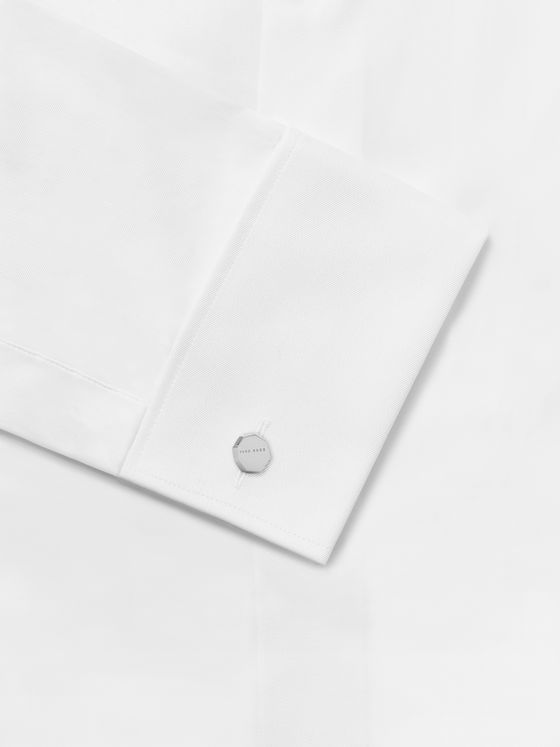 Hugo Boss Dameon Silver-Tone Cufflinks